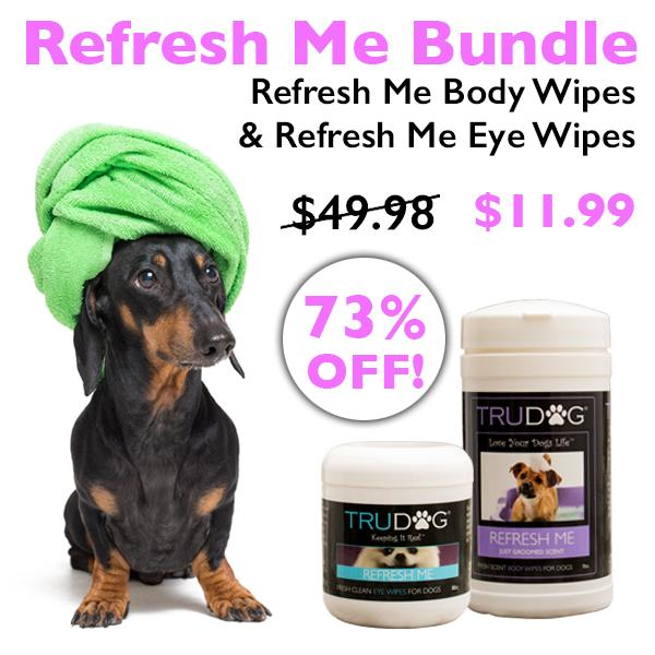 Refresh Me Eye Wipes and Refresh Me Body Wipes - Special Deal