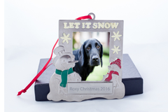 Let It Snow Personalized Ornament