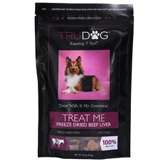 Treat Me Freeze Dried Beef Liver Treats for Dogs- 2 oz.
