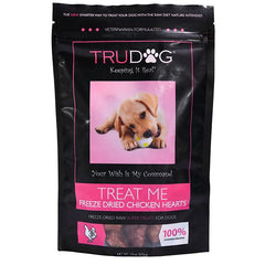 Treat Me Freeze Dried Chicken Heart Treats for Dogs- 2 oz.
