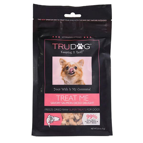 Treat Me Diced Salmon Treats 2.5 oz