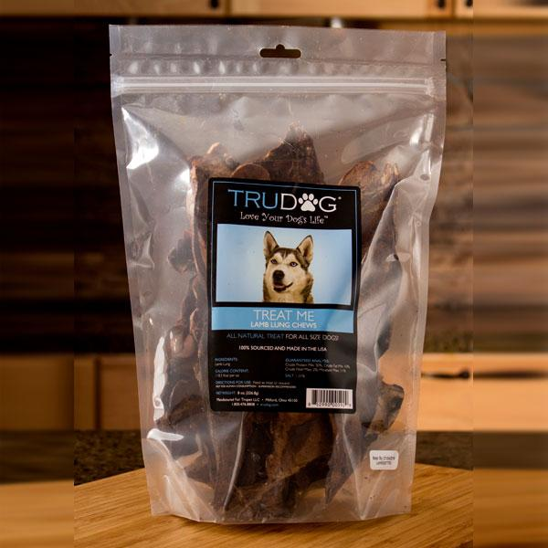 Daily Deal - Treat Me Lamb Lung Chews- 8 ounces