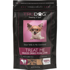 Treat Me Freeze Dried Pork Liver Treats for Dogs- 2 oz.