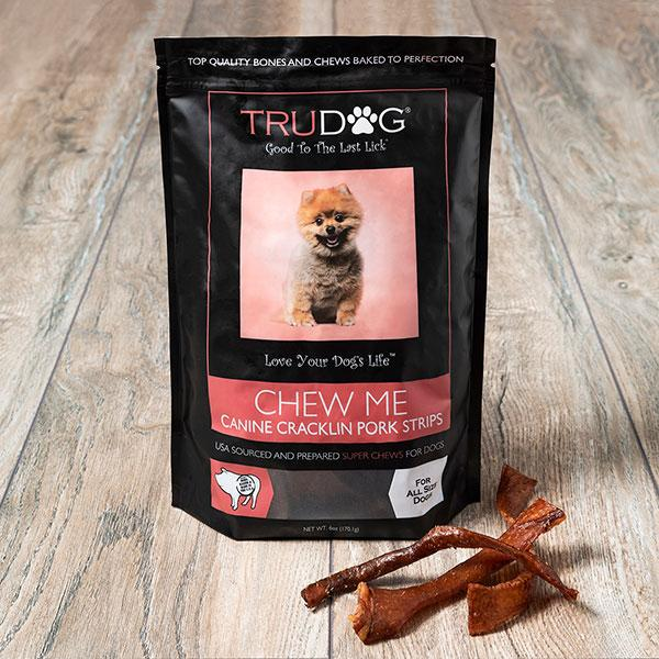 DAILY DEAL - Chew Me Canine Cracklin Pork Strips