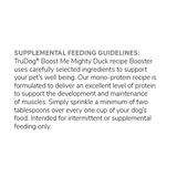 Boost Me Duck Freeze-Dried Raw Topper 3.5 oz