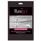 Daily Deal - Lamb and Cranberry Rawgo Dehydrated Raw Dog Food  (2.2lbs – Makes 6 lbs. of Food!)