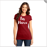Fur Mama - Women's Tee (White Lettering)