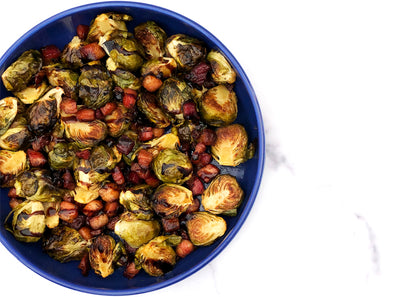 Best Ever Brussels Sprouts with Smoked Lardons
