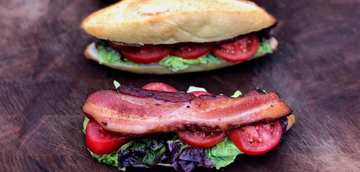 Back to school lunches with bacon