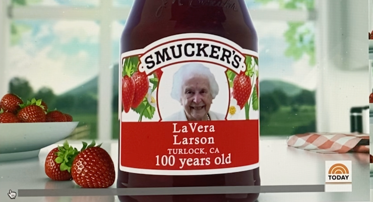 Smucker's Celebrates TODAY, Birthdays, 100 Years, Today Show