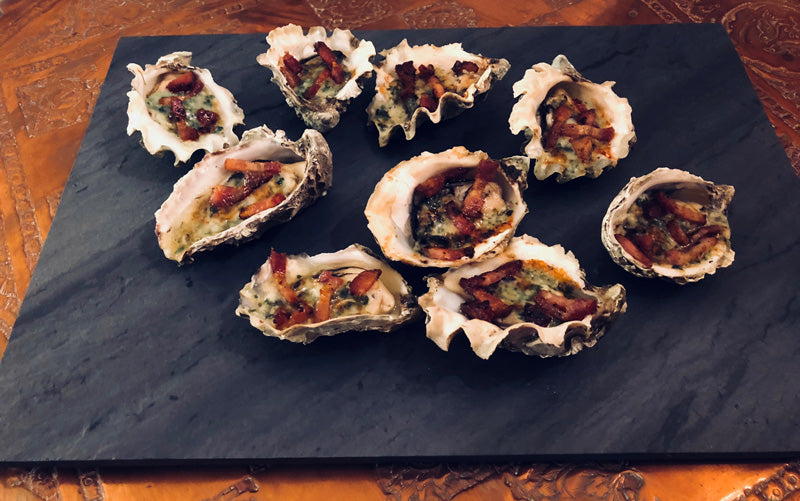 Oysters Rockefeller with Bacon – The Baconer