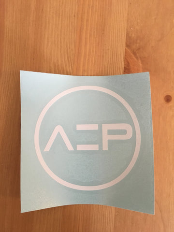 White AEP Transfer Sticker - Ancient Elite Performance