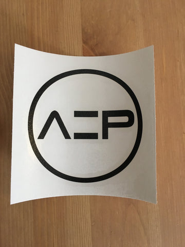 Black AEP Transfer Sticker - Ancient Elite Performance