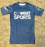 Blue AEP Combat Sports Rashguard