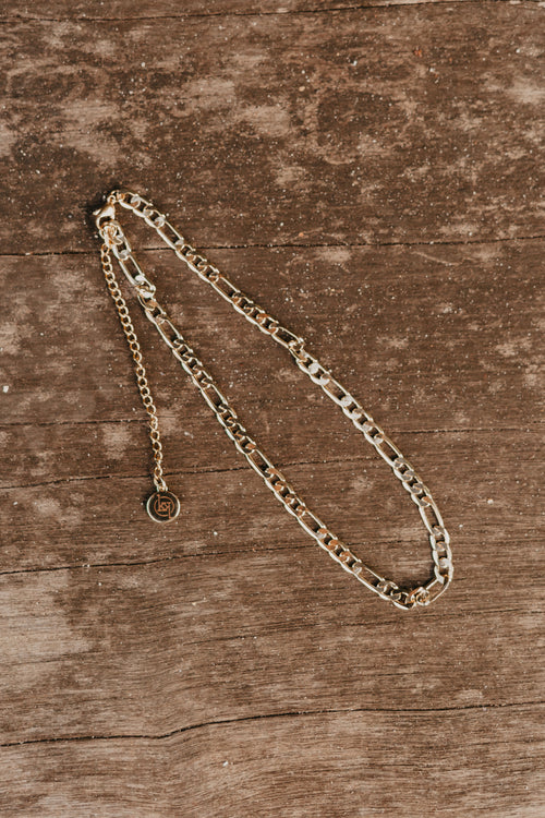 Morgan Gold Chain Necklace