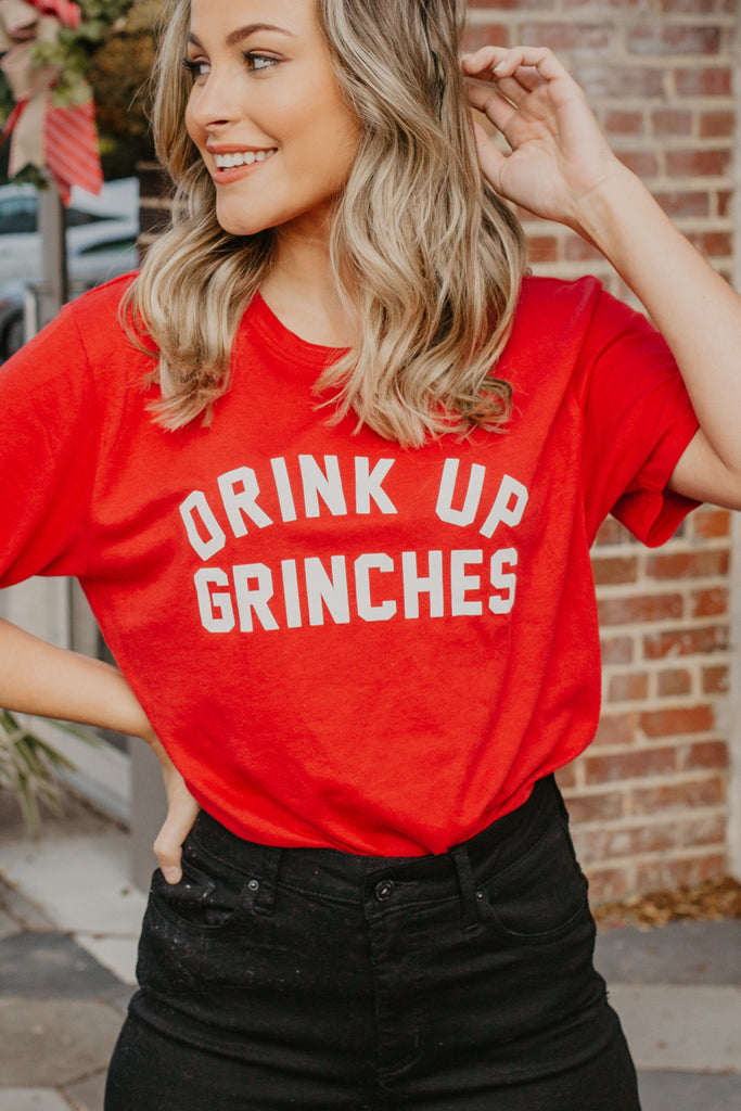 Drink Up Grinches Short Sleeve Tee - Parkside Harbor