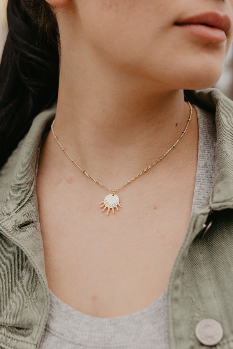Stella Star Burst Necklace