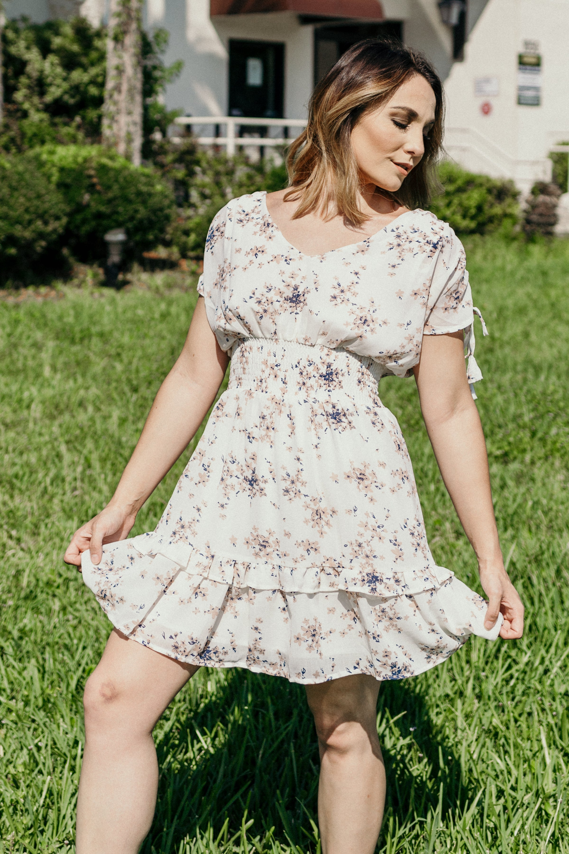 Sweet Nashville Ruffle Dress - Parkside Harbor