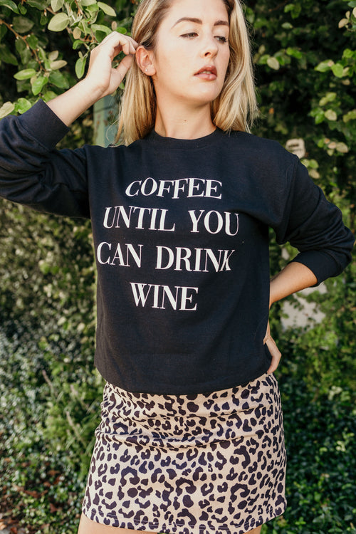 Wine Please Pullover Sweatshirt - Parkside Harbor