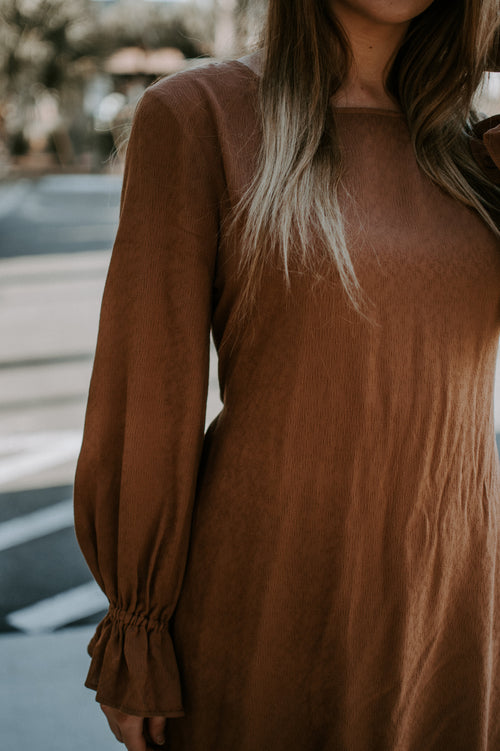 High Standards Long Sleeve Dress - Parkside Harbor