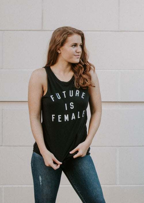Future Is Female Tank - Parkside Harbor