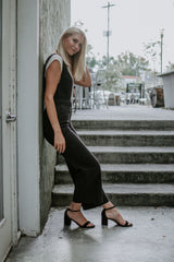 Free Fallin Braided Chaser Denim Jumpsuit - Parkside Harbor