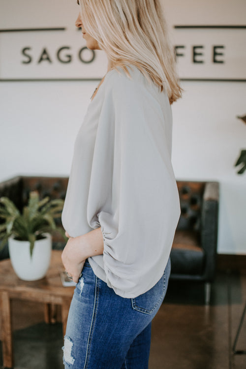 Simply Stunning Long Sleeve Blouse - Parkside Harbor