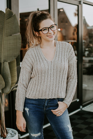 Remi Drawstring Long Sleeve Sweater