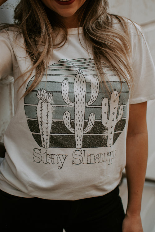 Stay Sharp Short Sleeve Tee - Parkside Harbor