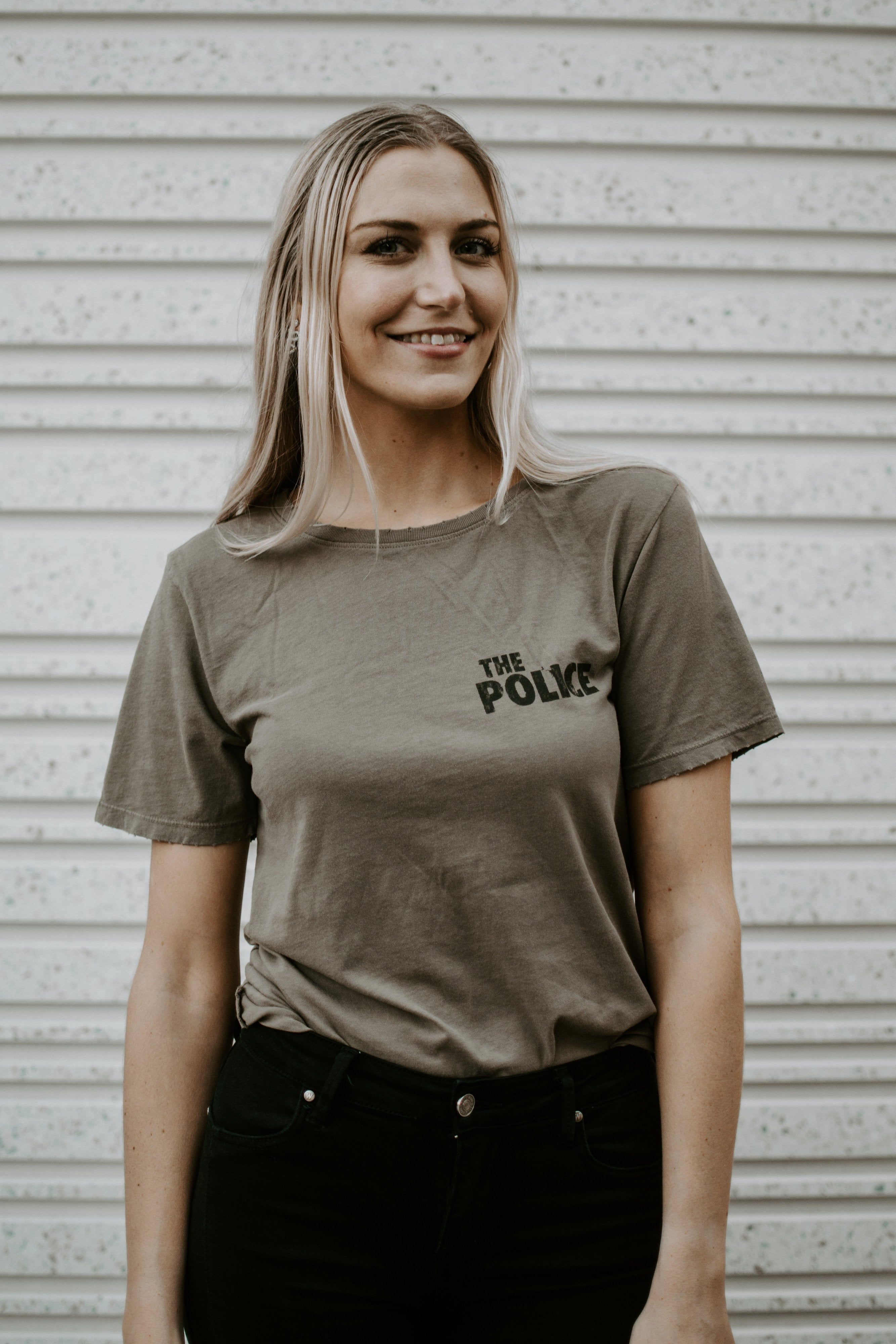 The Police Graphic Band Tee - Parkside Harbor
