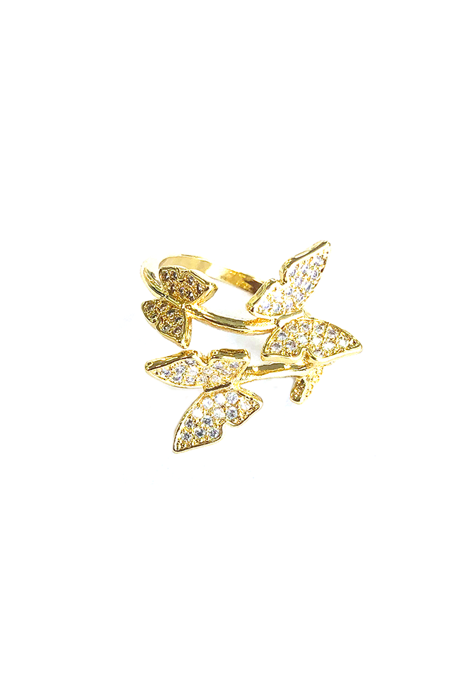 Riley Butterfly Ring