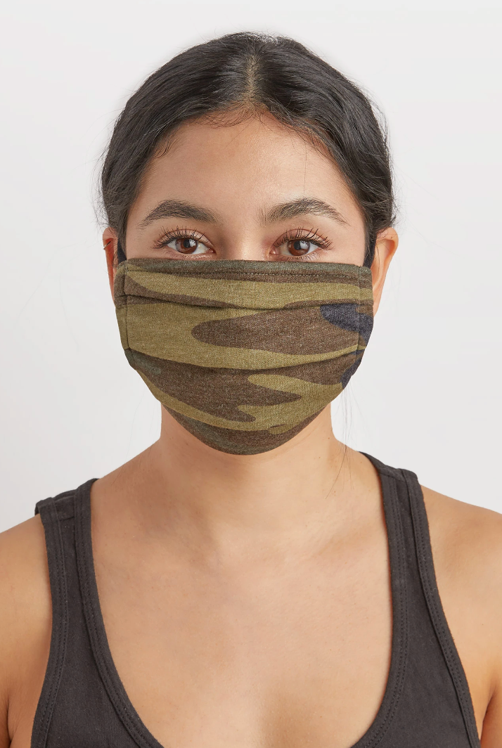 Camo & Black Z Supply Reusable Mask - Parkside Harbor