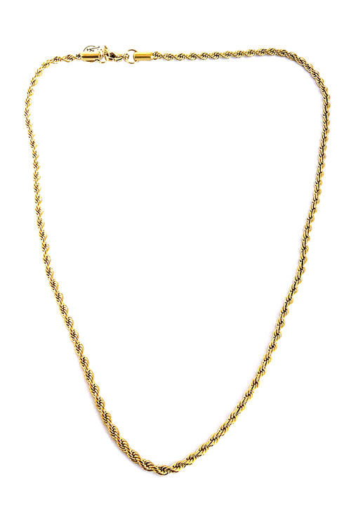 Treza Gold Chain Necklace