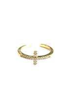 Cammie Cross Ring