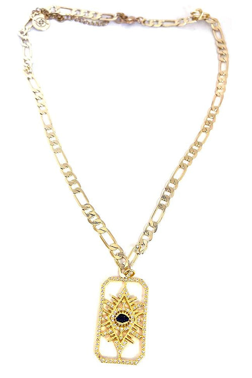 Cleo Gold Necklace