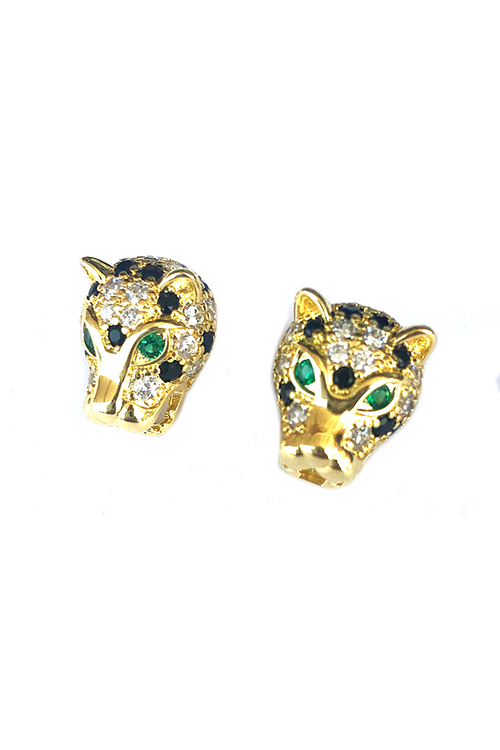 Purr Cheetah Earrings - Parkside Harbor