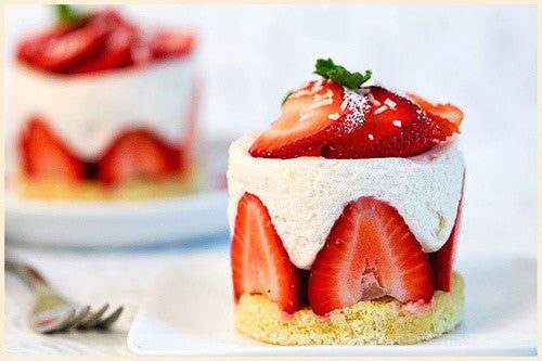 One of the classic french cake. Fraisier.