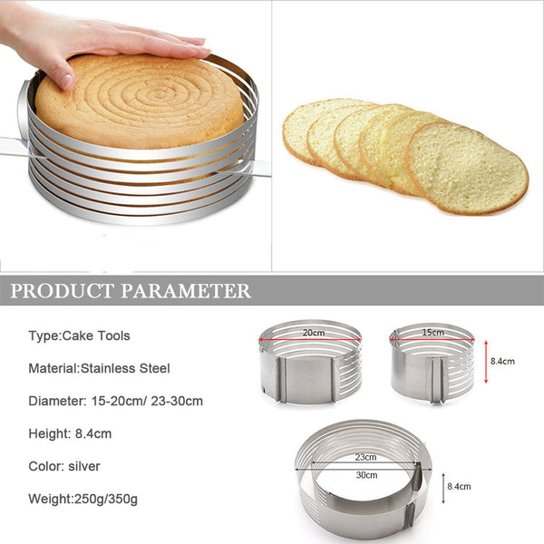 Tamaris Cake Slicer For Rounding Layer cakes