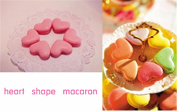 Mold - Tamaris Macaron Baking Surface Red Heart