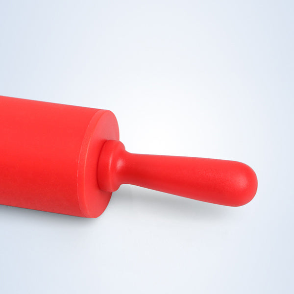 Red Silicone Rolling Pin