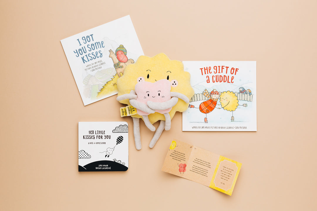 Bundle - Three Books + Sibling Set - The Kiss Co