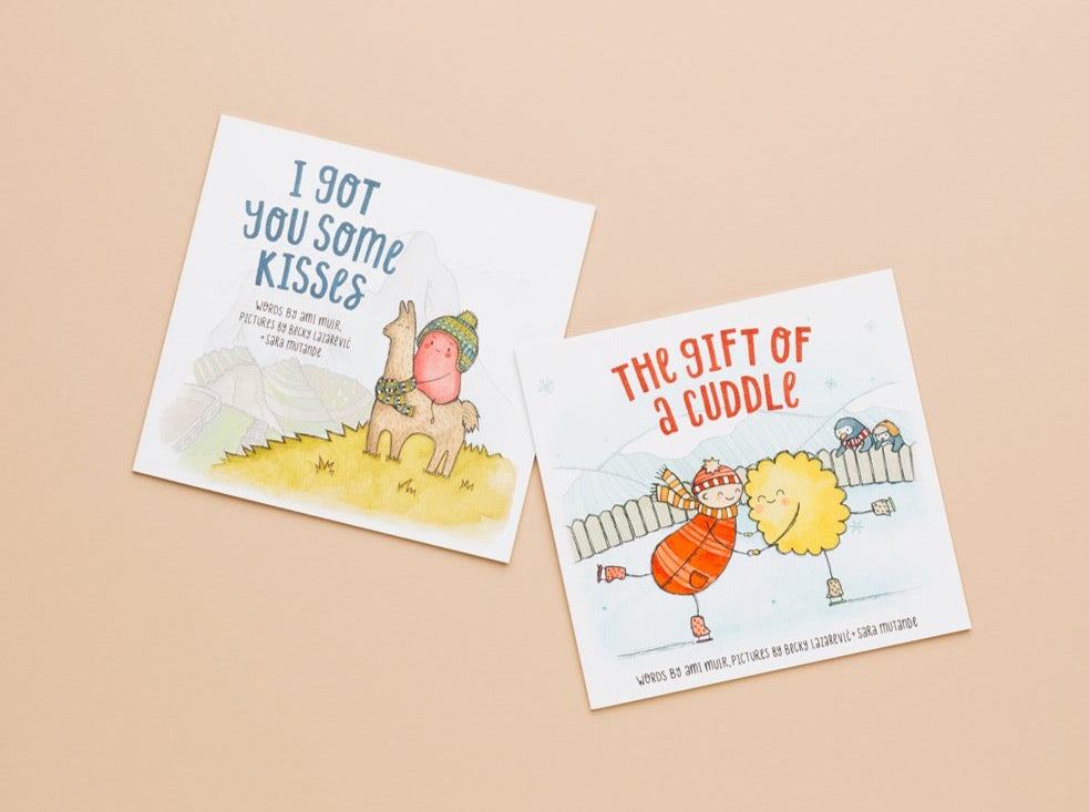 BUNDLE paperback Kisses + Cuddle - The Kiss Co