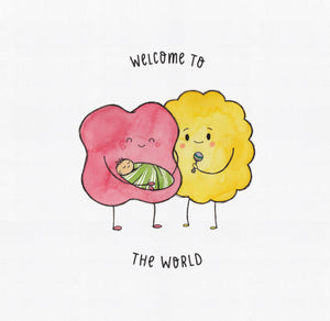 Welcome to the World Card - The Kiss Co