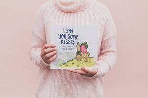 Kisses Book + Big Bag of Kisses Hide & Seek Game