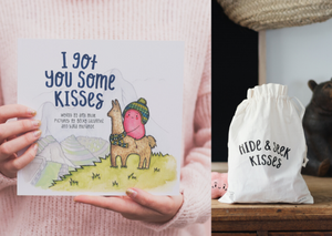 Bundle - Hide & Seek Game + Kisses Book - The Kiss Co