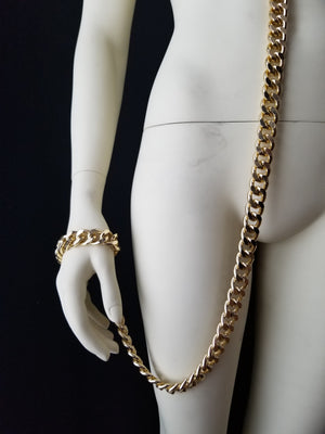Chain Leash Bracelet