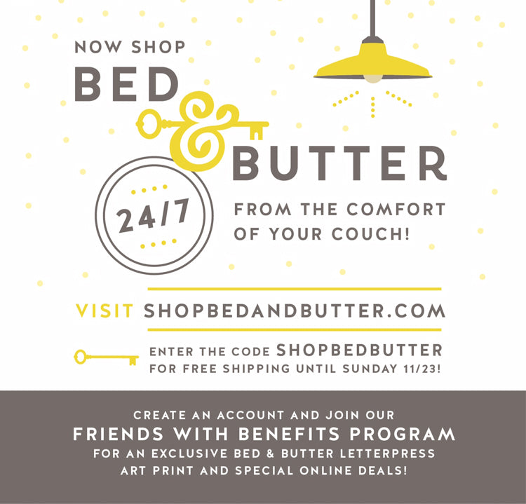 Bed & butter Website now live