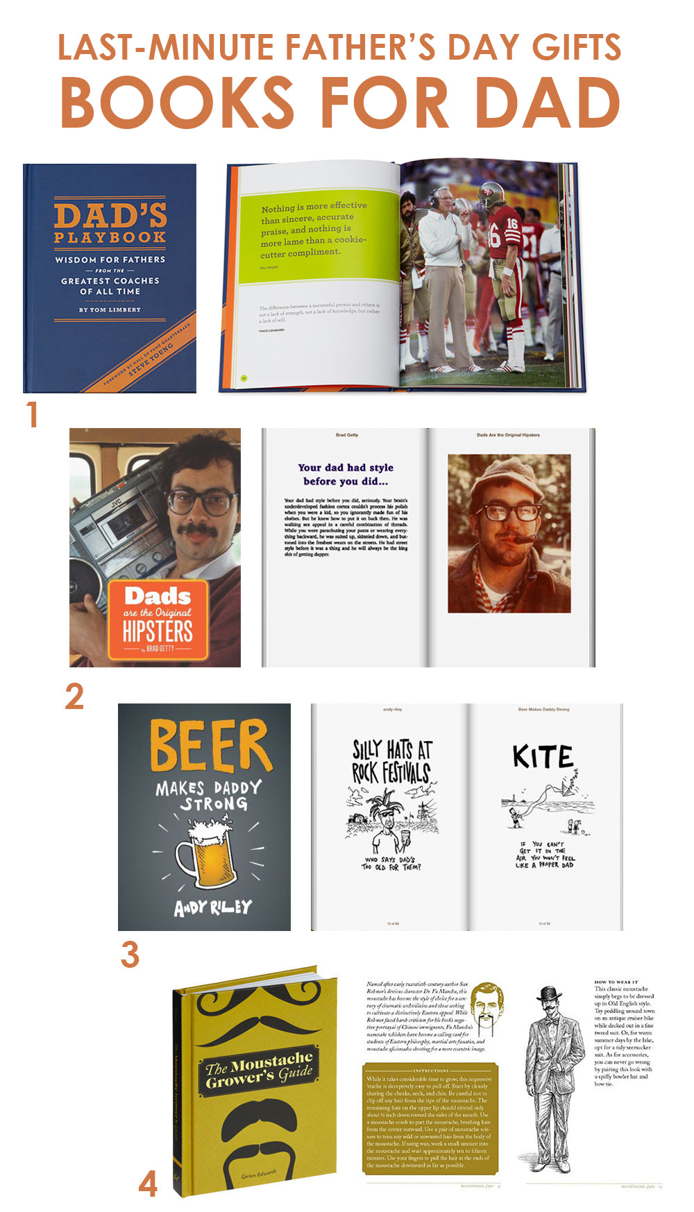 c0cc9f95 Dad's Playbook: Wisdom for Fathers from the Greatest Coaches of All Time.  With a title like that, need we say more? Written by author and parenting  expert ...