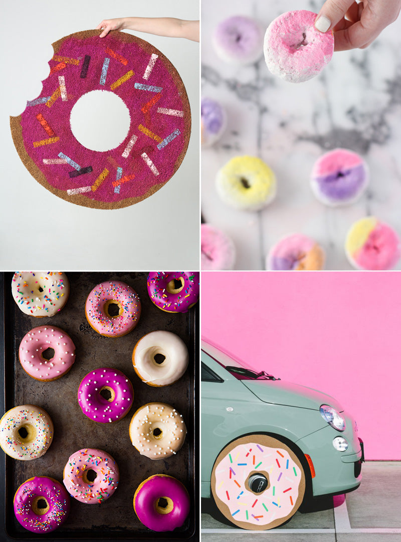 Donut Day Collage Rock Paper Scissors Blog