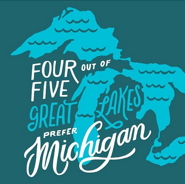 Four Out of Five Great Lakes
